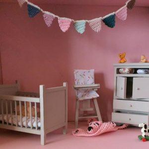 Kinderkamer Maan Roze