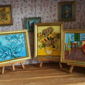 Van Gogh op ezel
