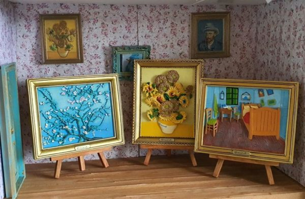 Amandelbloessem van Gogh