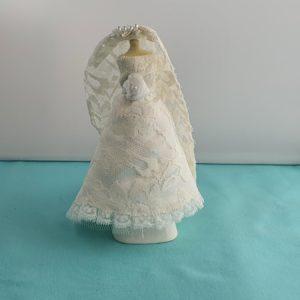 Poppenhuis trouwjurk