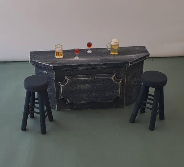 Bar/ toonbank poppenhuis