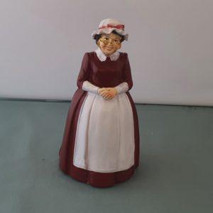 poppenhuis kerstvrouw