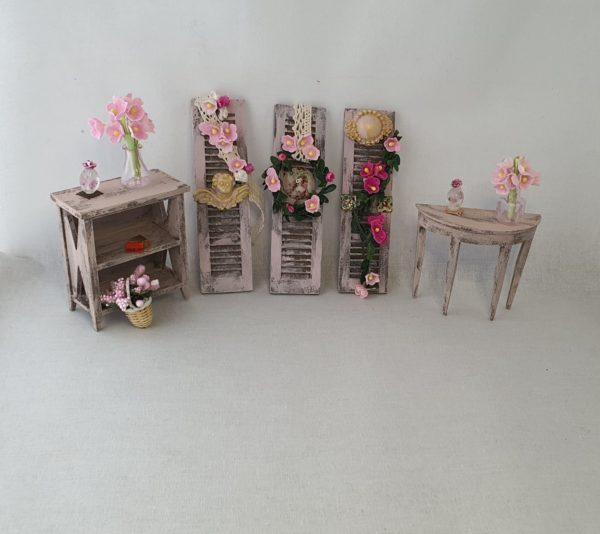 brocante shabby meubels poppenhuis